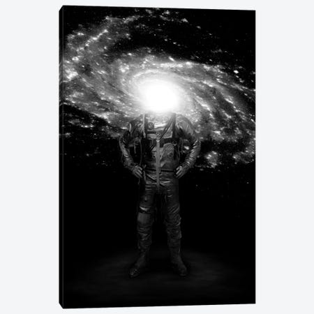 Mr. Galaxy Canvas Print #NID182} by Nicebleed Canvas Artwork