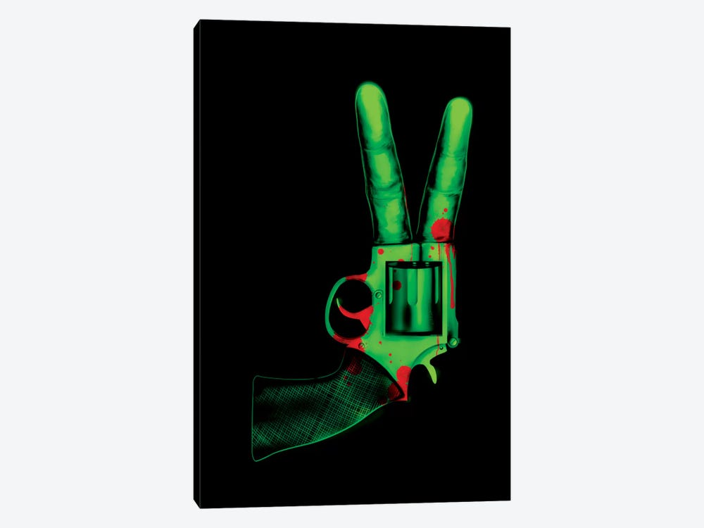 Peace Bang by Nicebleed 1-piece Canvas Wall Art