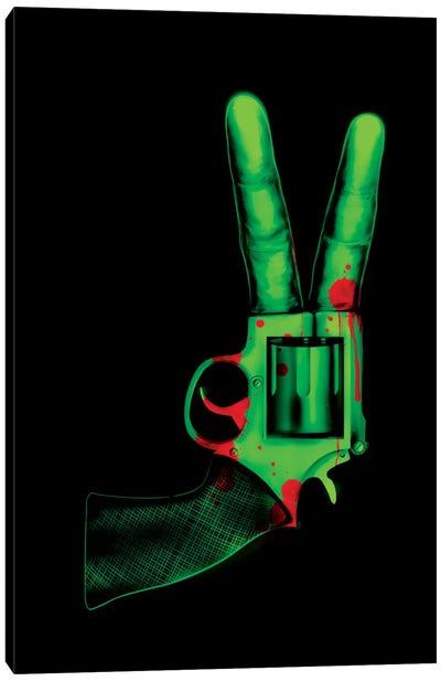 Peace Bang Canvas Art Print