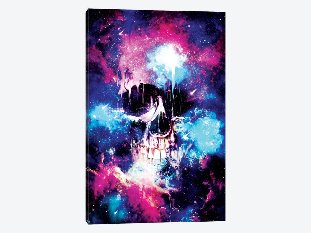 Space Skull by Nicebleed 1-piece Canvas Print