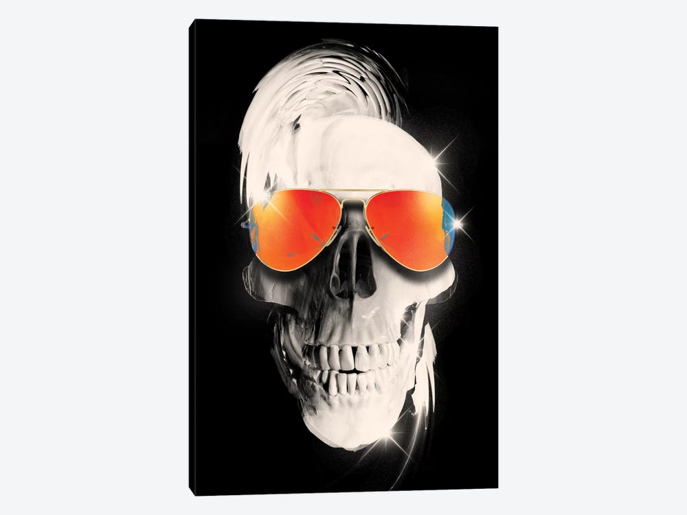Summer Skull by Nicebleed 1-piece Canvas Art