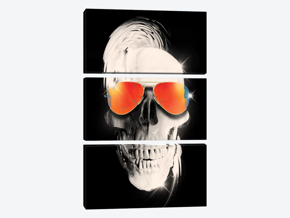 Summer Skull 3-piece Canvas Art