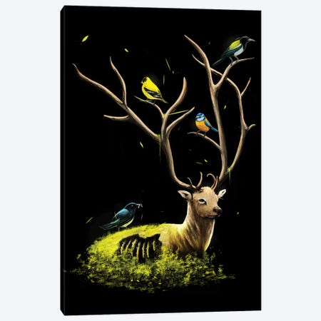 The Gathering Canvas Print #NID188} by Nicebleed Canvas Artwork