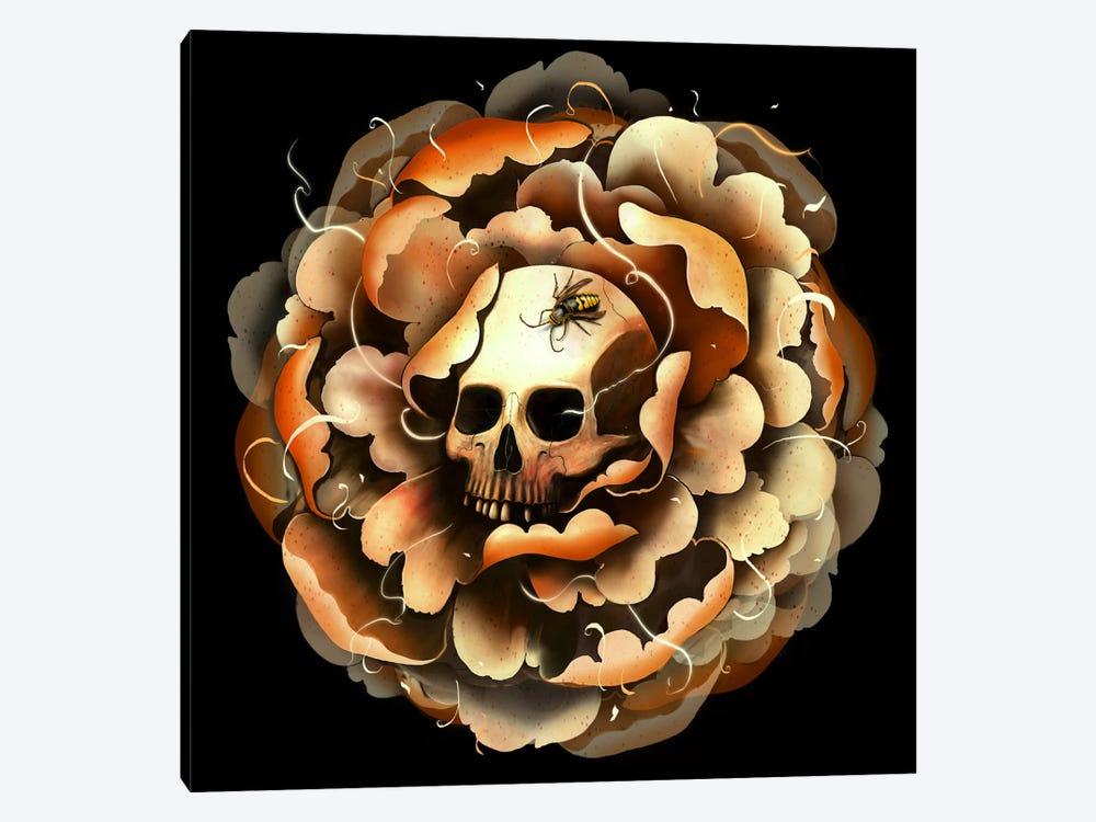 Death Blooms by Nicebleed 1-piece Canvas Print
