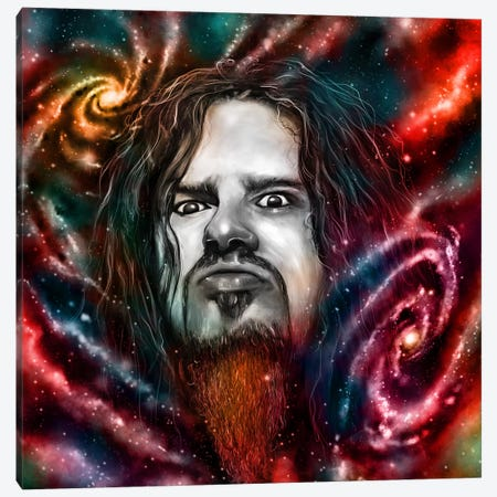 Dimebag Darrell Canvas Print #NID198} by Nicebleed Canvas Print