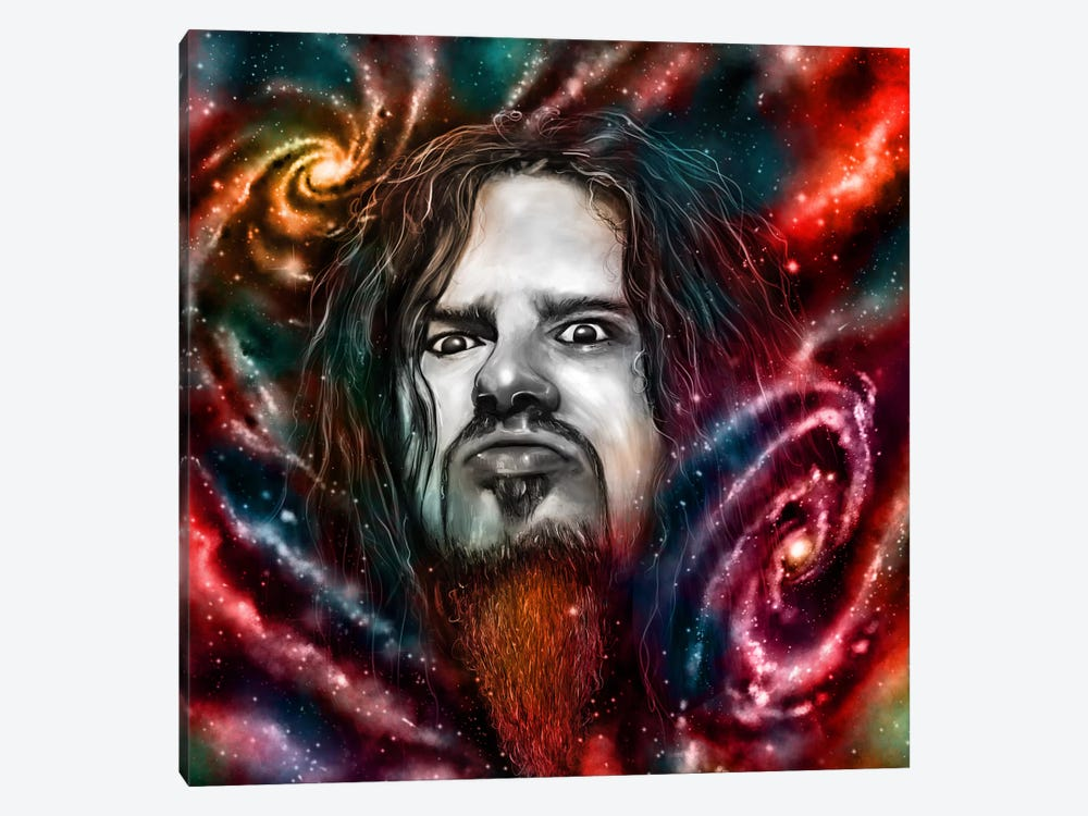 Dimebag Darrell by Nicebleed 1-piece Canvas Wall Art