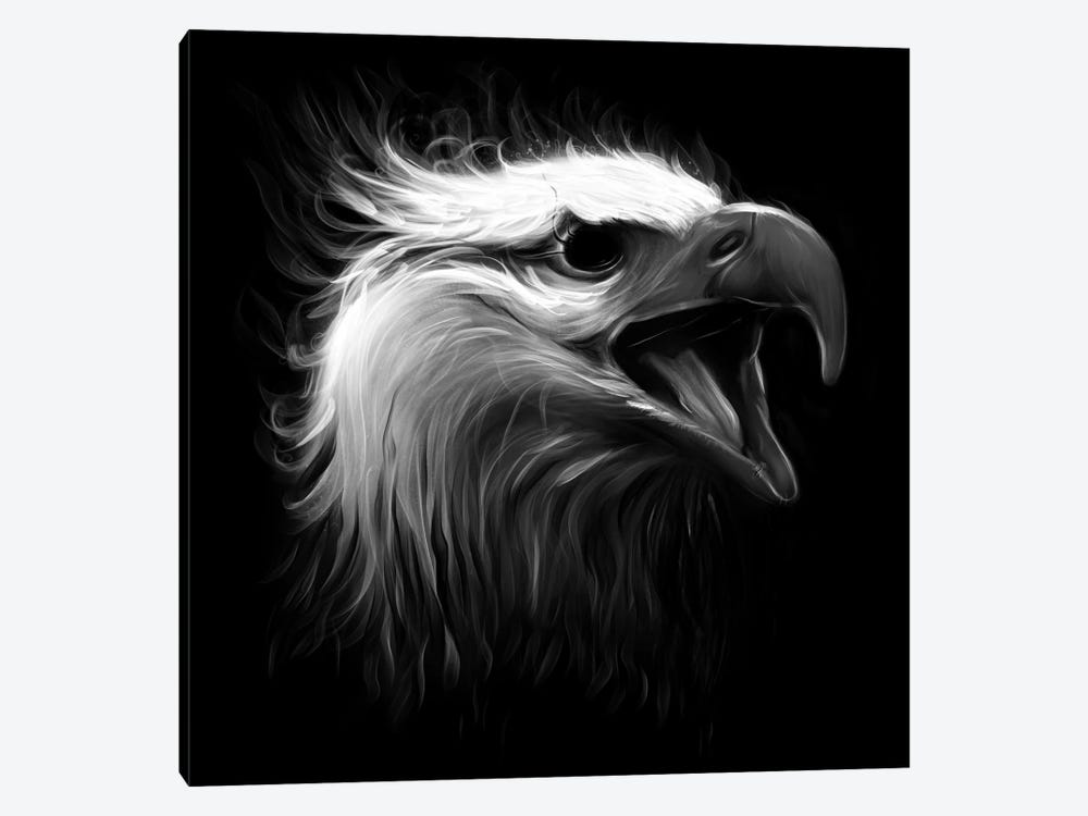 Eagle Eye by Nicebleed 1-piece Canvas Art Print