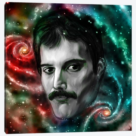 Freddie Canvas Print #NID200} by Nicebleed Canvas Print