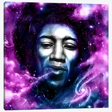 Jimi Canvas Print #NID205} by Nicebleed Canvas Wall Art