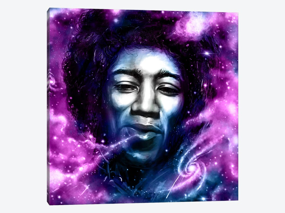 Jimi by Nicebleed 1-piece Canvas Artwork
