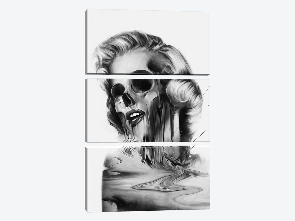 Marilyn by Nicebleed 3-piece Canvas Artwork