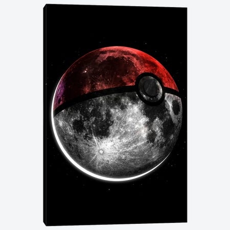 Pokemoon Canvas Print #NID210} by Nicebleed Canvas Art