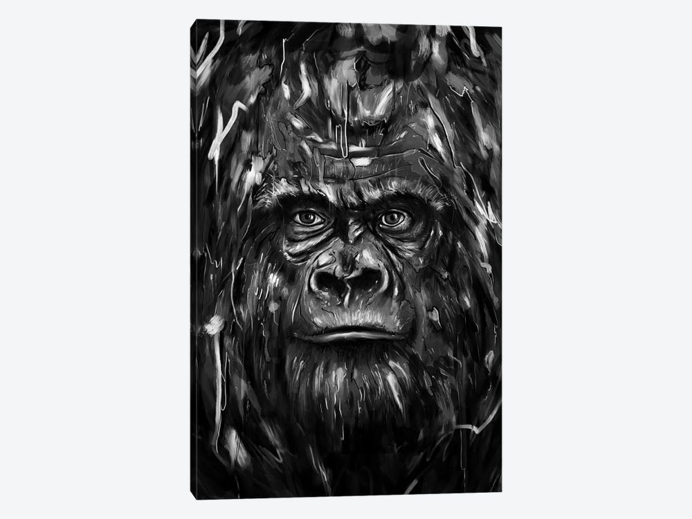 Silverback by Nicebleed 1-piece Canvas Wall Art