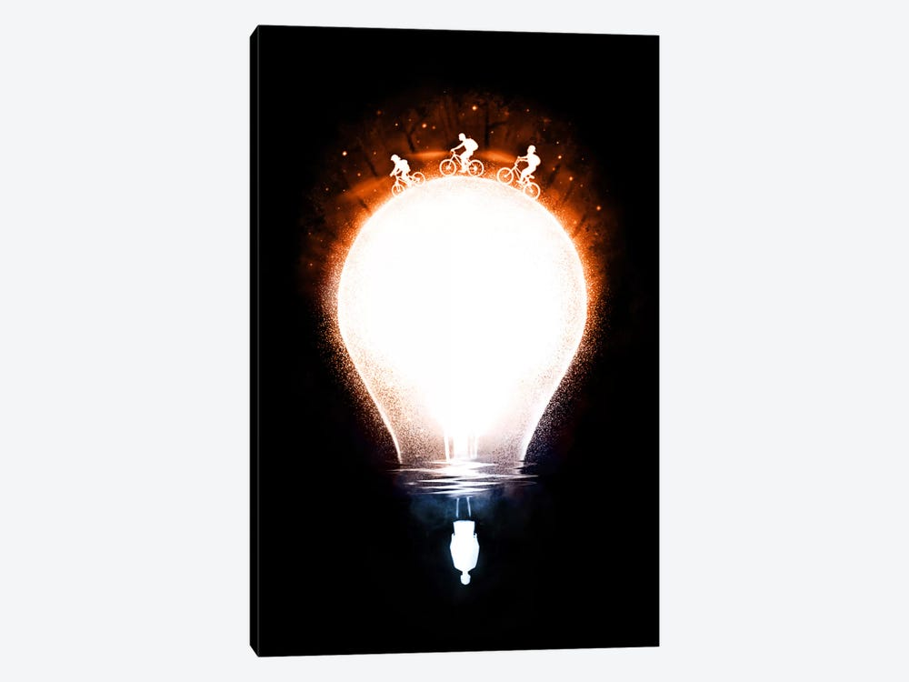 Strange Light by Nicebleed 1-piece Canvas Wall Art