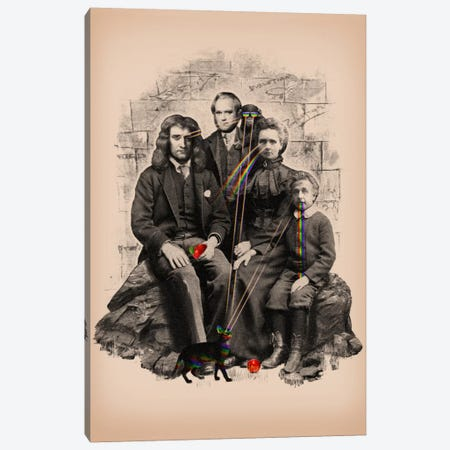 Family Portrait Canvas Print #NID21} by Nicebleed Canvas Art