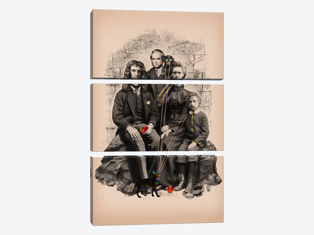 Family Portrait by Nicebleed 3-piece Canvas Art
