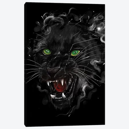 Black Panther Canvas Print #NID220} by Nicebleed Canvas Print