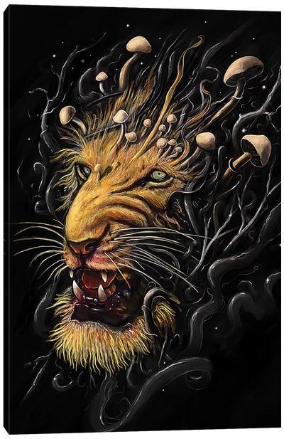 Big Cats Series: Lion Canvas Print #NID222