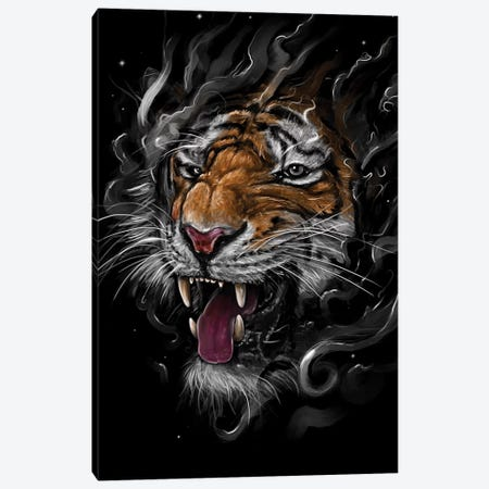 Tiger Canvas Print #NID223} by Nicebleed Canvas Art Print