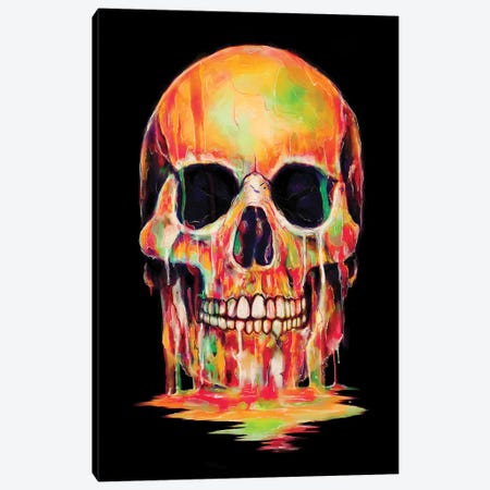 Dye Out Canvas Print #NID224} by Nicebleed Canvas Artwork