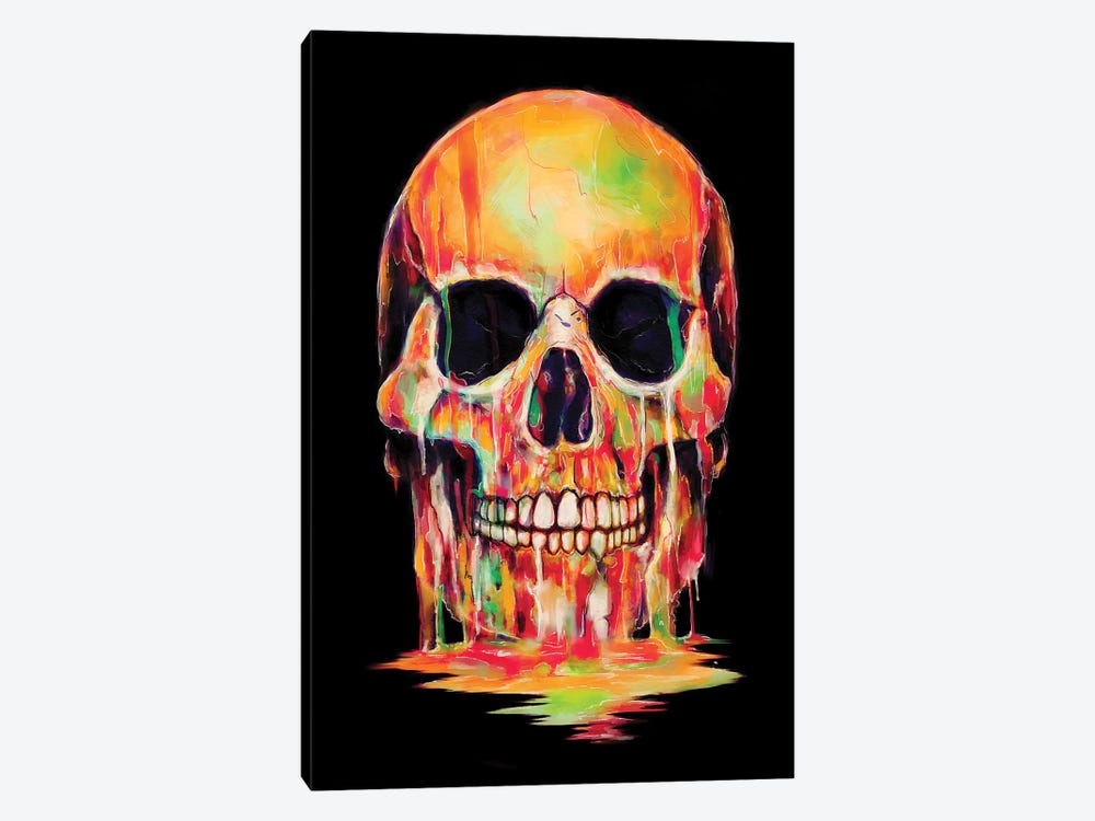 Dye Out 1-piece Canvas Print