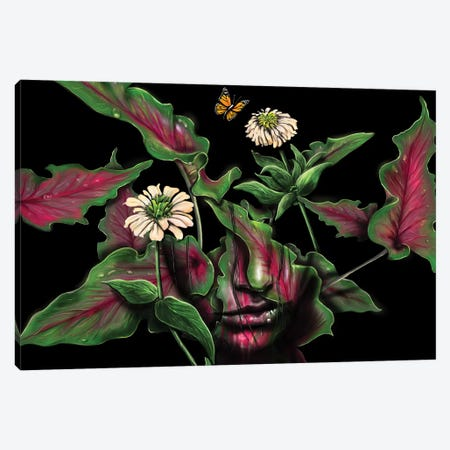Felicity Canvas Print #NID227} by Nicebleed Canvas Artwork