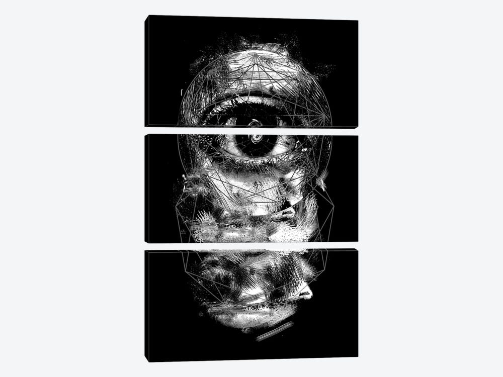 Foresee by Nicebleed 3-piece Canvas Print