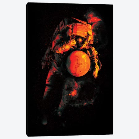 It's A Small World After All II Canvas Print #NID229} by Nicebleed Canvas Print