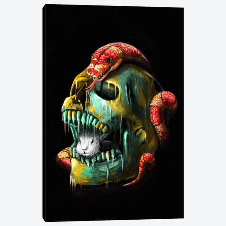 Fear And Desire Canvas Print #NID22} by Nicebleed Canvas Artwork