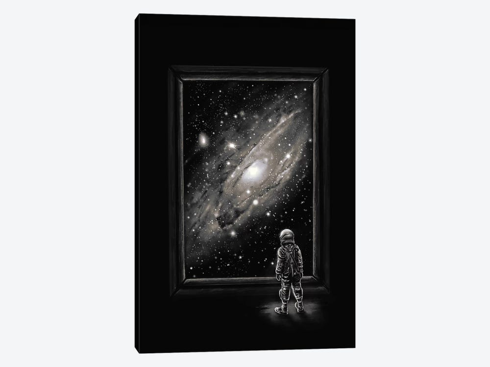 Looking Through A Masterpiece by Nicebleed 1-piece Canvas Art