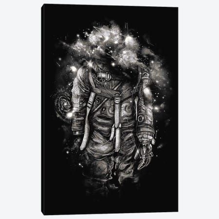 Lost In Cosmic Shades Canvas Print #NID231} by Nicebleed Canvas Artwork