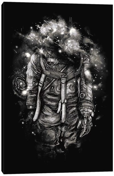 Lost In Cosmic Shades Canvas Print #NID231
