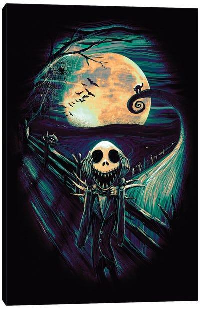 The Scream Before Christmas II Canvas Art Print