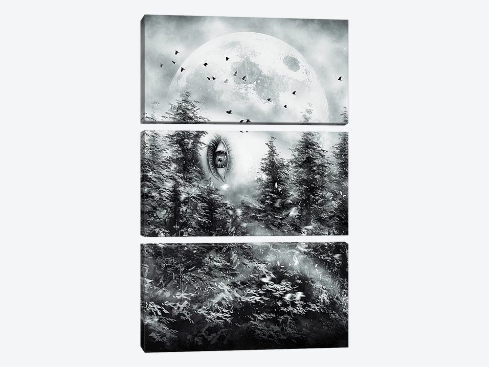 The Watcher by Nicebleed 3-piece Canvas Wall Art
