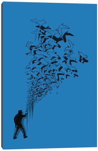 Flying High Canvas Art Print