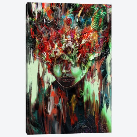 Chaotic Mind Canvas Print #NID243} by Nicebleed Canvas Art Print