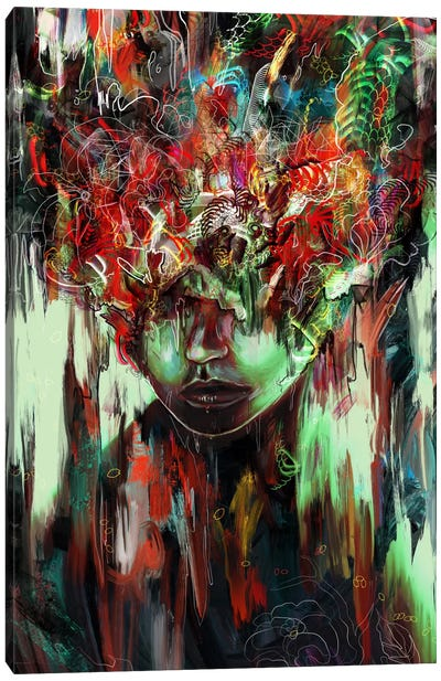 Chaotic Mind Canvas Art Print