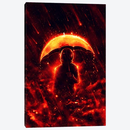 Cosmic Rain Canvas Print #NID244} by Nicebleed Canvas Art
