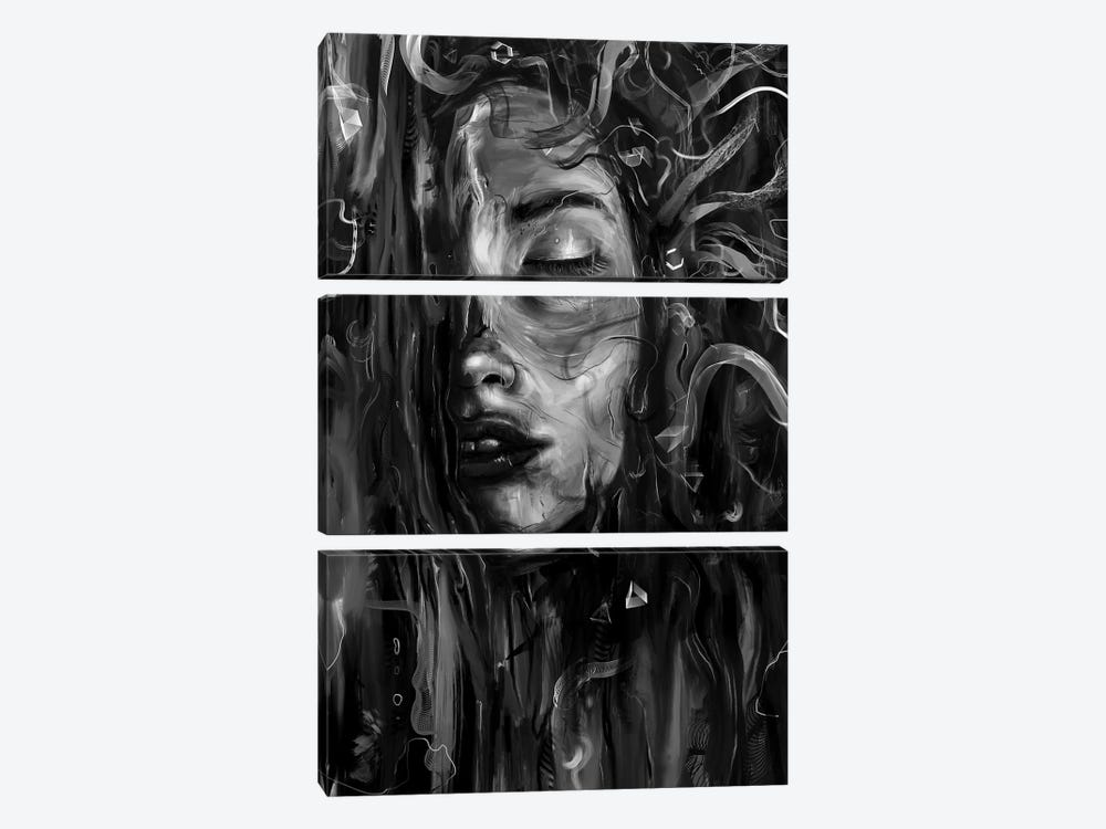 Deep by Nicebleed 3-piece Art Print