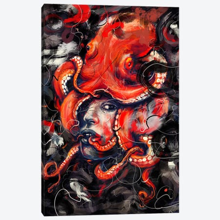 Empress Octo Canvas Print #NID249} by Nicebleed Art Print