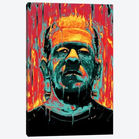 Frankenstein Canvas Print #NID24} by Nicebleed Canvas Art Print