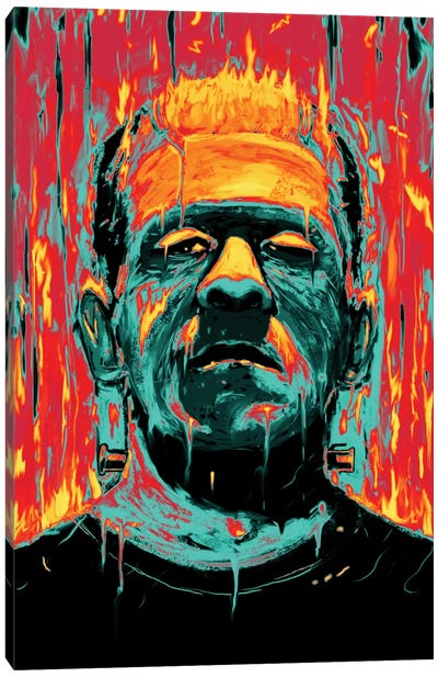 Frankenstein Canvas Art Print