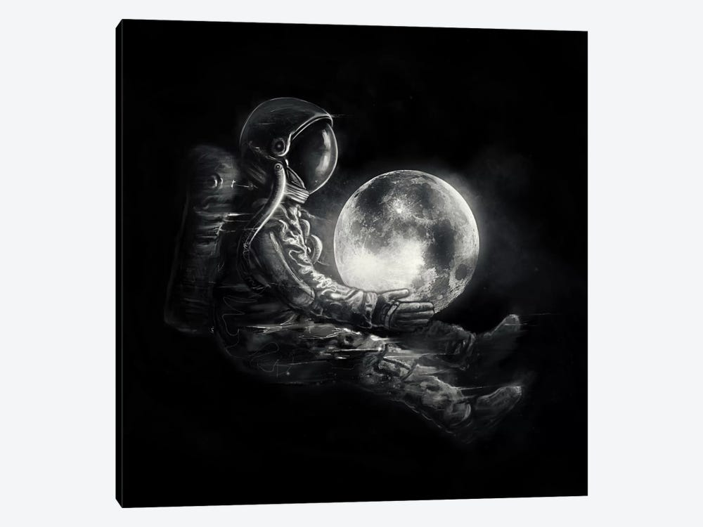 MoonPlay by Nicebleed 1-piece Canvas Print