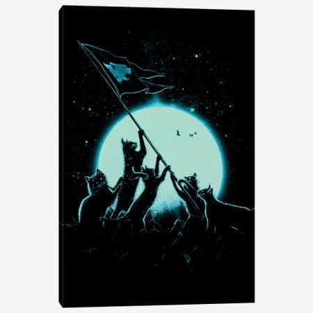 Freedom Cats Canvas Print #NID25} by Nicebleed Canvas Print