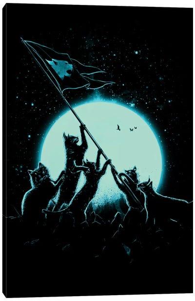 Freedom Cats Canvas Art Print
