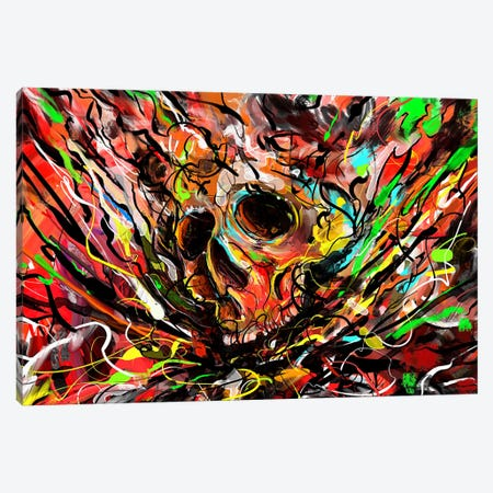 Skullicious Canvas Print #NID260} by Nicebleed Canvas Print