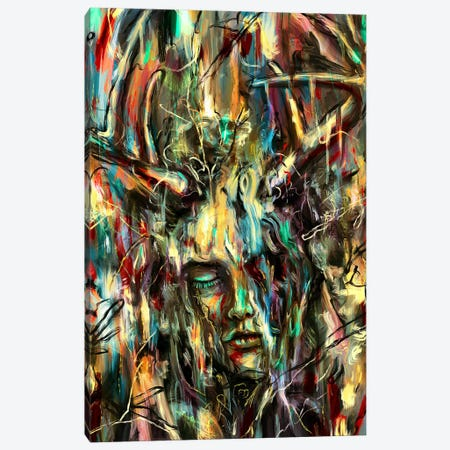 Villain Canvas Print #NID265} by Nicebleed Canvas Art