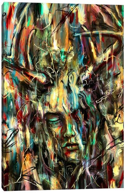 Villain Canvas Art Print