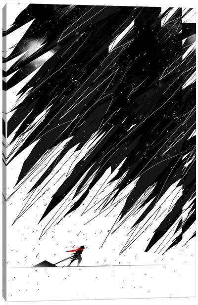 Geometric Storm Canvas Art Print