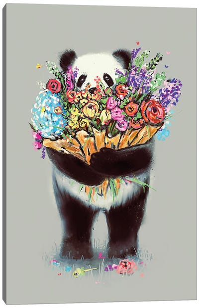 Flowers For You Big Canvas Art Print